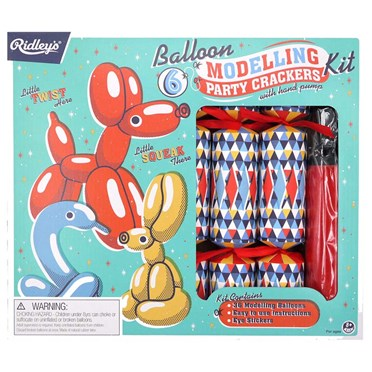 Ridleys Balloon Modelling Party Crackers