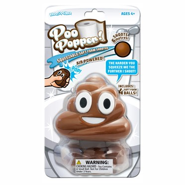 An image of Poo Squeeze Popper Toy | Shoots Up To 20 Feet!