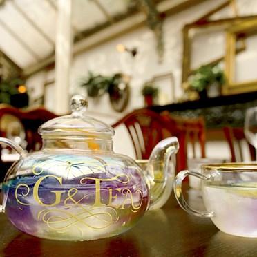 G & Tea Cocktail Teapot Set