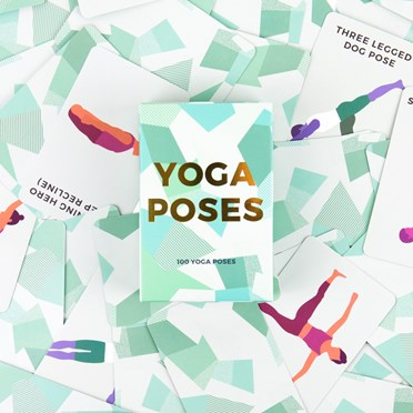 An image of 100 Yoga Poses Cards
