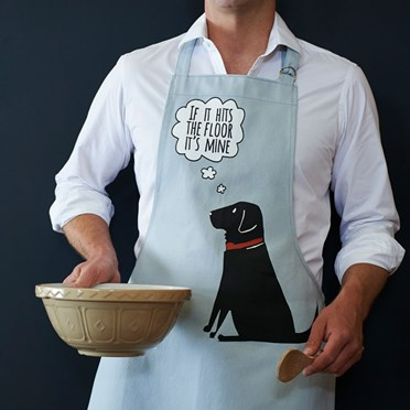 Labrador 'If It Hits The Floor It's Mine' Apron