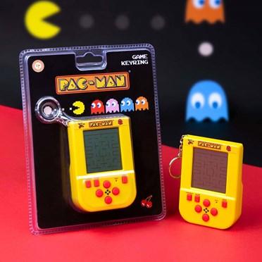 Pac Man Retro Keyring Game