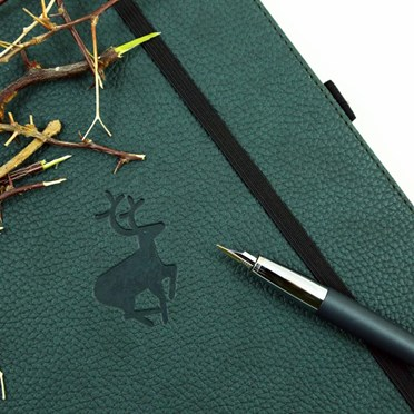 Eco-Friendly Stag Notebook