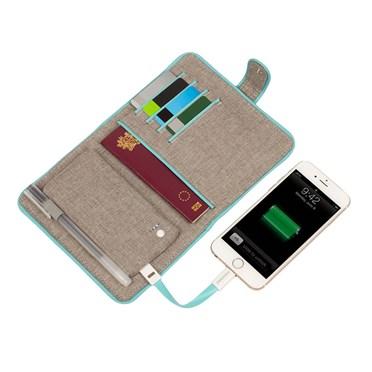 Powerbank Passport Case