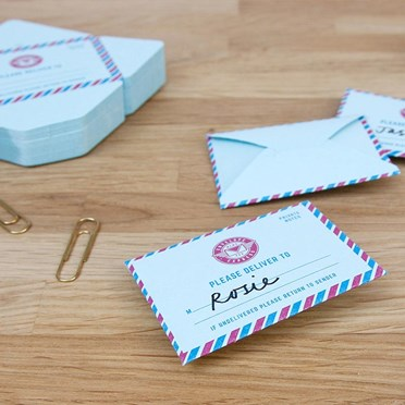Mini Mail Memo Pad