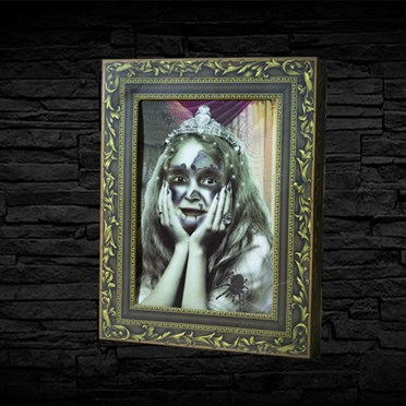 Halloween 3D Effect Photo Frame