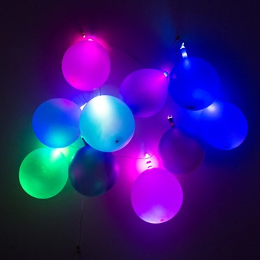 An image of Colour Changing Balloon Lights