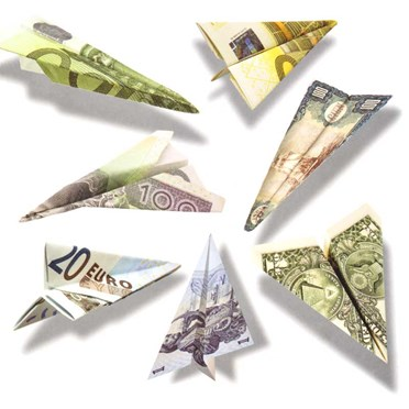 An image of Banknote Paper Planes