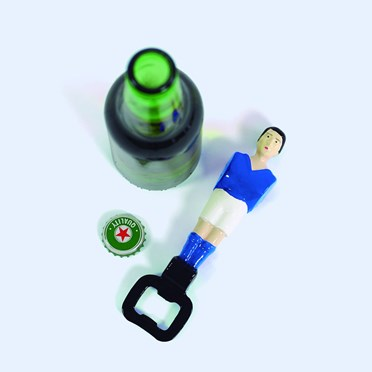 An image of Table Football Bottle Opener | Choose Red or Blue