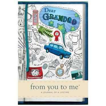Dear Grandad Book - From You to Me Journal