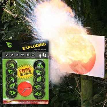 An image of Exploding Air Rifle Target Pack