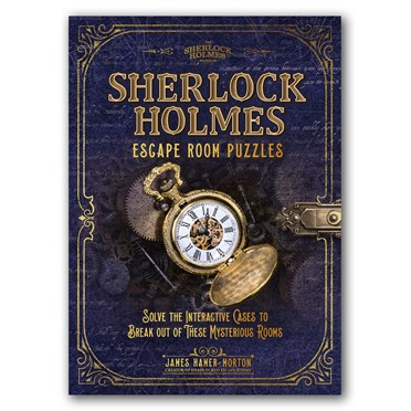 Sherlock Holmes Escape Room Puzzle Book