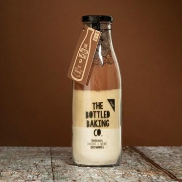 Vegan Chocolate & Walnut Brownie Mix in a Bottle