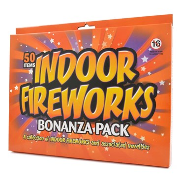 An image of Indoor Fireworks | a set of 50 mini fireworks