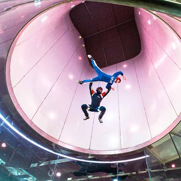 An image of Indoor Skydiving Experience | Experience Day for One
