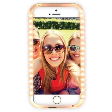 iPhone Selfie Light & Power Bank Case