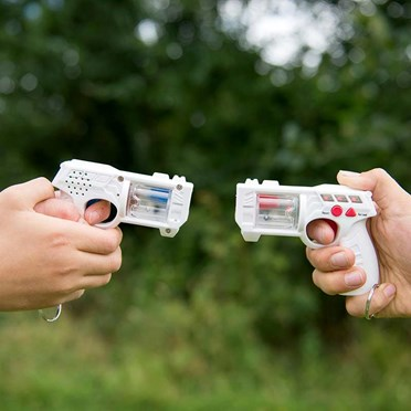An image of Laser Tag Shooting Game | Set of Two Lasers