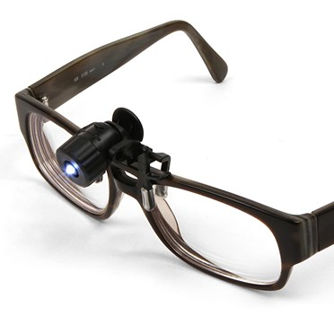 An image of Mini Clip-on LED Spotlight for Glasses/Spectacles