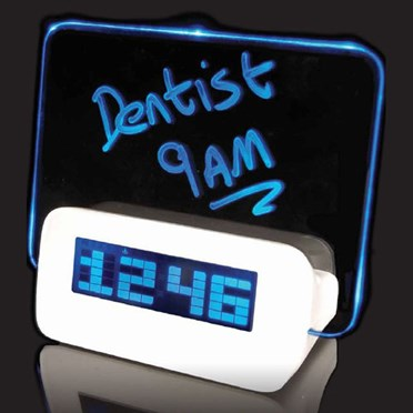 Scribble Message Alarm Clock