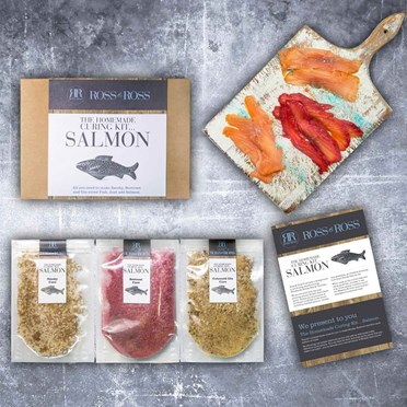 The Homemade Salmon Curing Kit