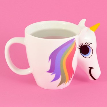 An image of Unicorn Colour Changing Mug | Changes Colour Magically!