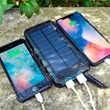 Solar Charging Powerbank with Lighter and Torch