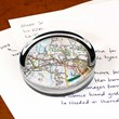 Personalised Map Paperweight
