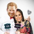 2 x Prince Harry & Meghan Markle Face Masks