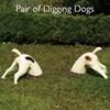 Pair of Digging Dog Ornaments