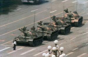 Tank Man Tiananmen Square June 5, 1989
