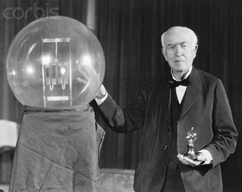 Edisons lamp
