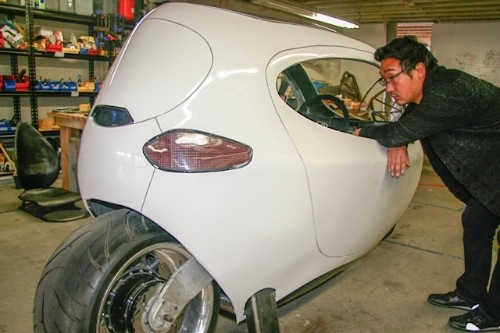 sf startup bets on two wheel electric cars. Black Bedroom Furniture Sets. Home Design Ideas