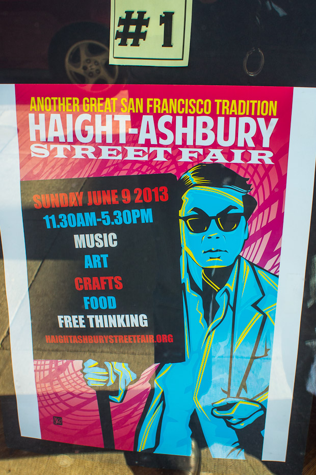 Haight Street Fair posters 1