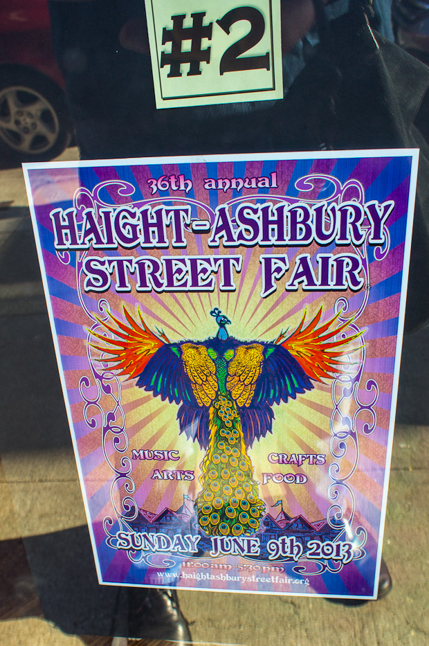 Haight Street Fair posters 2