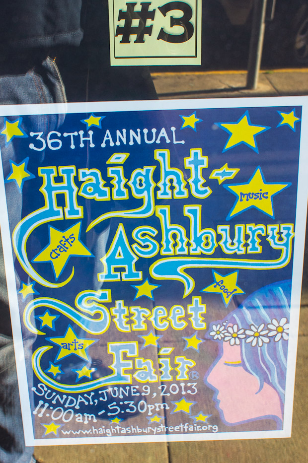 Haight Street Fair posters 3