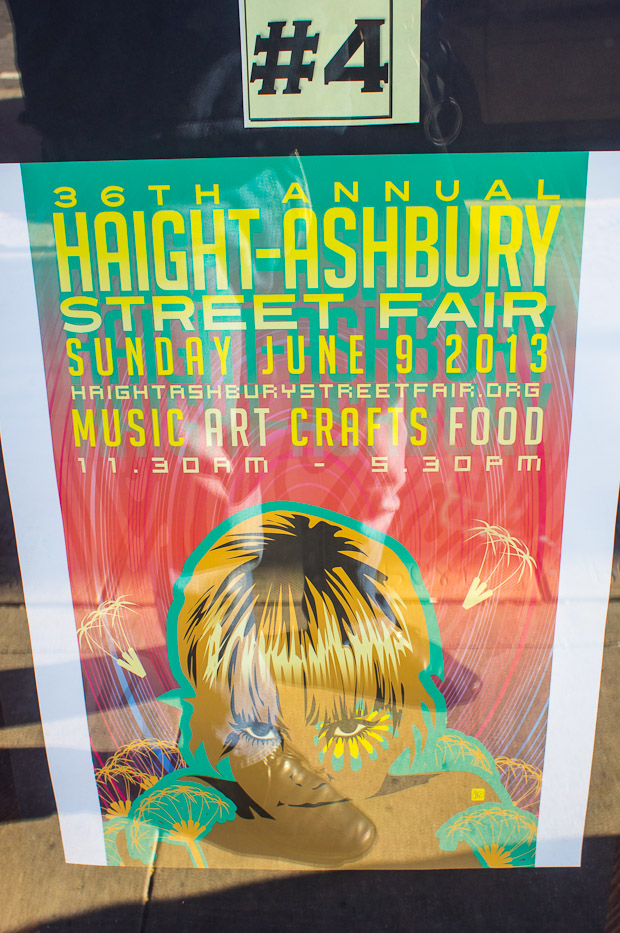 Haight Street Fair posters 5