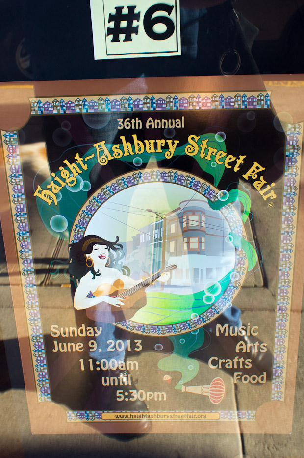 Haight Street Fair posters 7