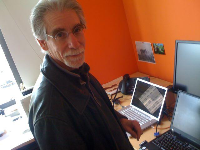 Dan Farber at his desk
