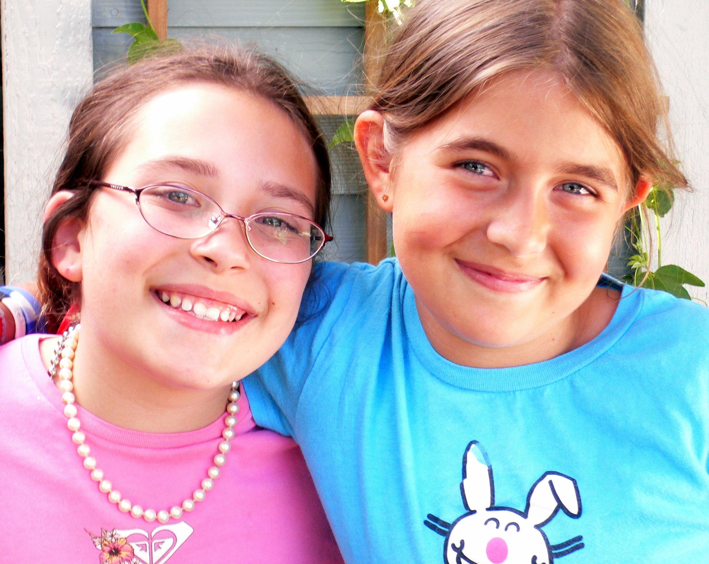 Sarah Foremski (11yrs) and Lilly