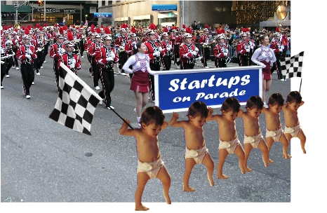 Startups on Parade