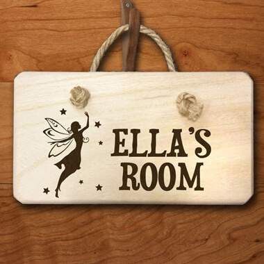 Personalised Fairy Door Sign