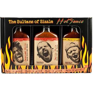 The Sultans of Sizzle Hot Sauce Gift Set