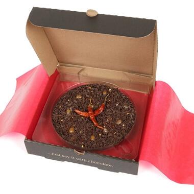 "Chocolate Pizza - Chilli Chocolate 7"""