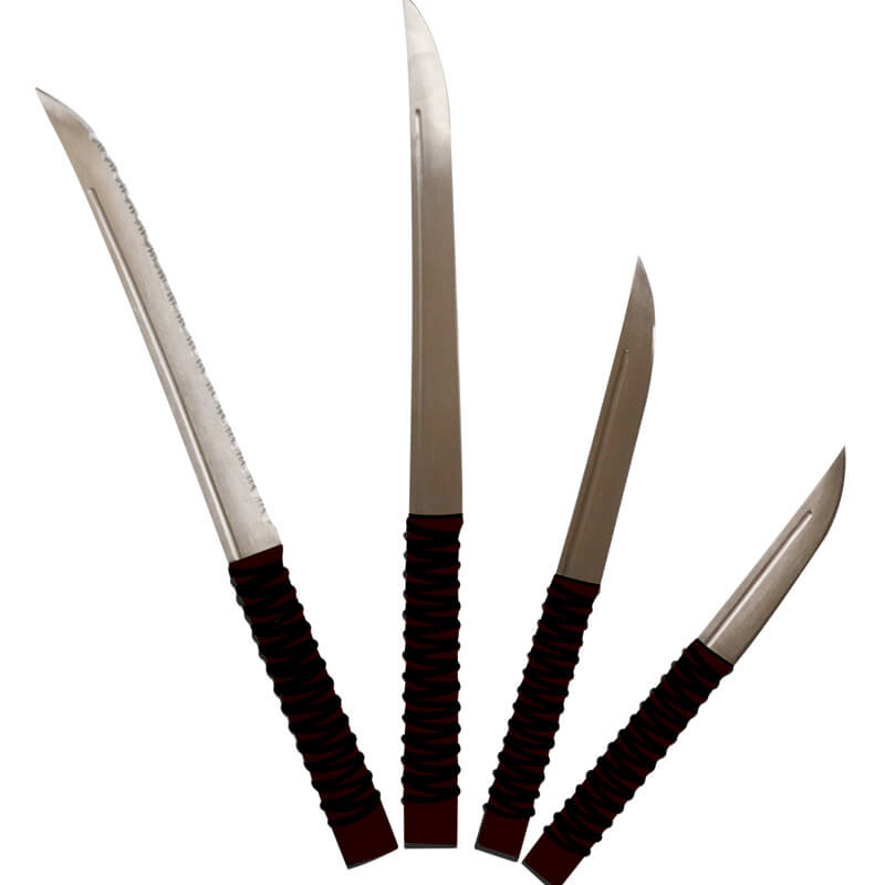Samurai Kitchen Knives