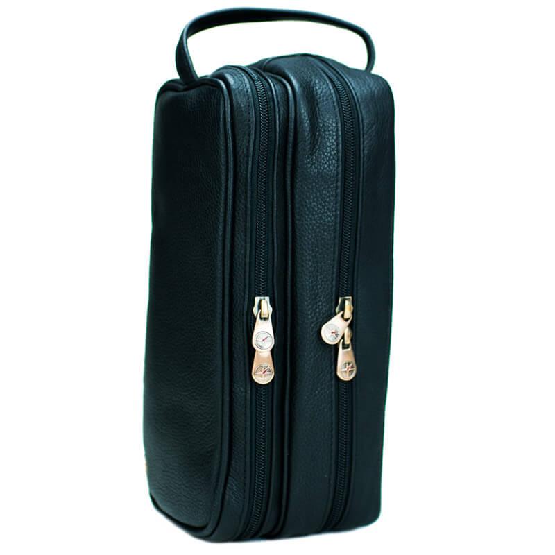 Leather Travel Wash Bag