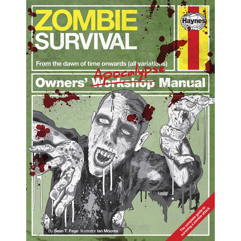 Haynes - Zombie Survival Manual - 16th Birthday Gifts For Him