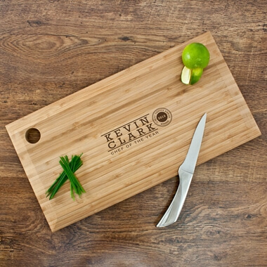 Personalised Bamboo Chopping Board