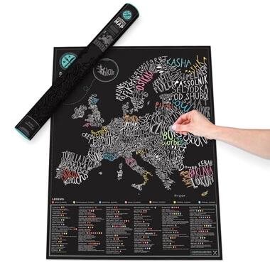 Gourmet Scratch Map