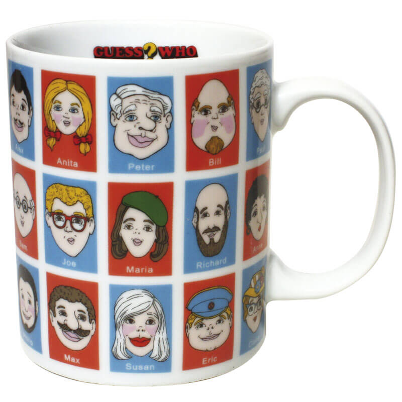 Guess Who Mug - Children's Birthday Your Kids Bday - 7th Birthday