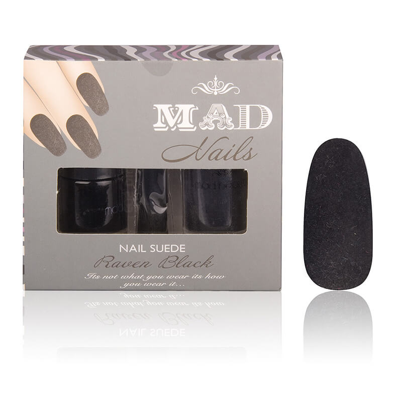 Suede Nails - Black